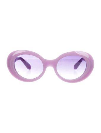 Acne Studios Round Gradient Sunglasses - Accessories - ACN44260 | The RealReal