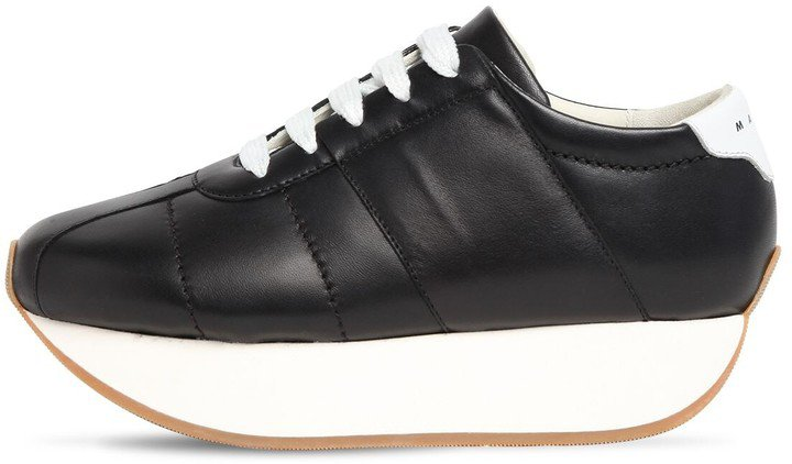 40mm Big Foot Leather Sneakers