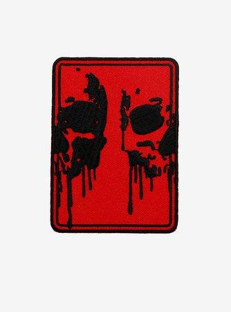 Skulls Drip Patch