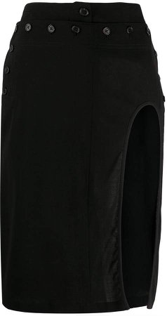 Cut-Out Pencil Skirt