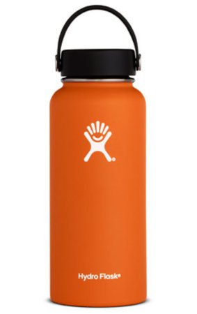 orange hydro flask