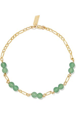 Loren Stewart | Armband aus Gold mit Aventurinen | NET-A-PORTER.COM