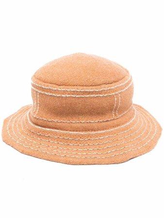 Barrie distressed bucket hat - FARFETCH