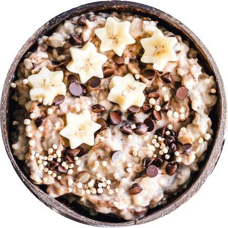 vanilla chocolate chip oats