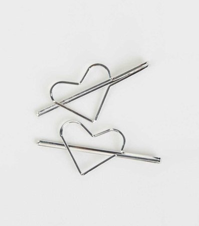 heart clips