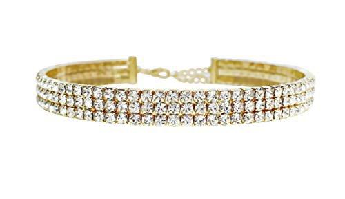gold diamond choker - Google Search