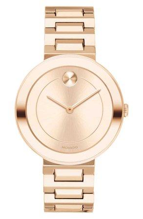 Movado Bold Refined Bracelet Watch, 34mm | Nordstrom