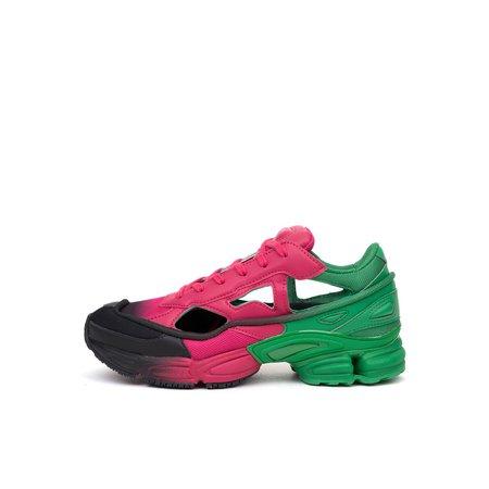 adidas x Raf Simons Replicant Ozweego Green / Pink – Concrete