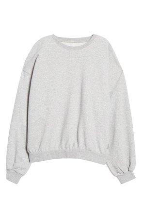 KUWALLA Oversize Blouson Sleeve Sweatshirt | Nordstrom