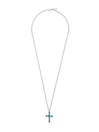 Nialaya Jewelry cross pendant necklace - FARFETCH