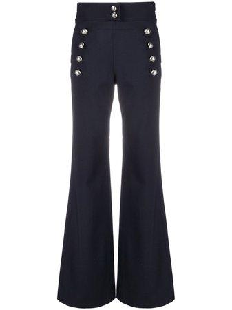 Chloé high-waist Flared Trousers - Farfetch