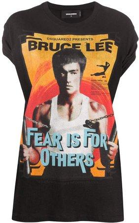 Bruce Lee print T-shirt