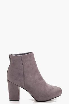 Kasey Mid Heel Shoe Boots