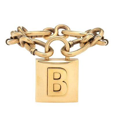 Balenciaga - Lock chain bracelet | Mytheresa