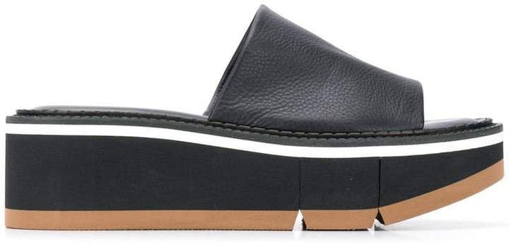 slip-on platform sandals