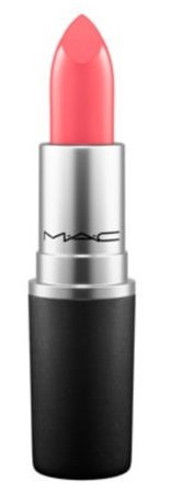 Coral pink lipstick (cross wires) Mac