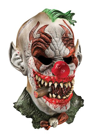 Foam Latex Mask, Deluxe Fonzo The Clown-Adult Rubies Costumes - Apparel 68330 [1540998959-229485] - $13.59