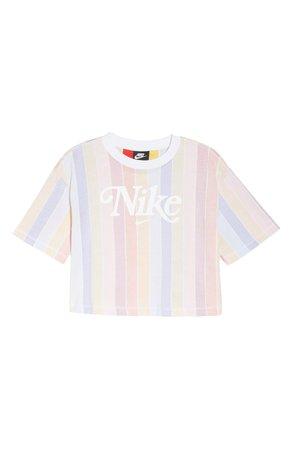 Nike Sportswear Retro Print Crop Top | Nordstrom