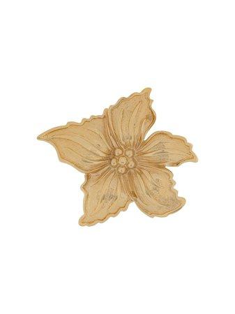 Christian Dior, flower brooch