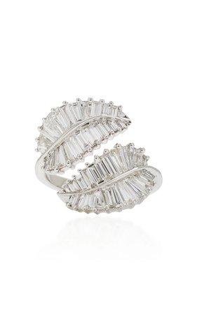 Palm Leaf Ring by Anita Ko | Moda Operandi