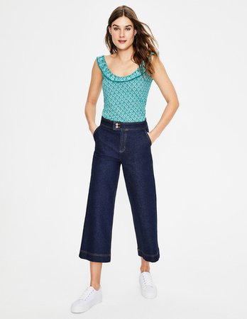 Eleanor Jersey Tank J0425 Tanks & Camis at Boden