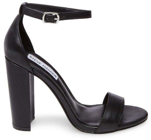 Carrson Black Leather