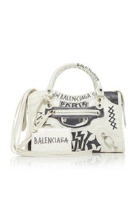 Classic City Mini Printed Leather Tote by Balenciaga | Moda Operandi