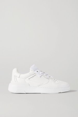 Wing Leather Sneakers - White