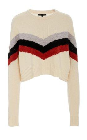Lukas striped wool blend ski sweater by Marissa Webb | Moda Operandi