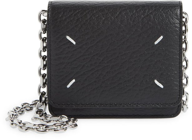 Leather Wallet on a Chain