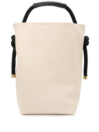 Zucca Rope Handle Tote Bag AG155YATCHROPE Neutral   Farfetch