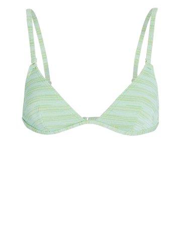 Solid & Striped Lulu Knit Bikini Top| INTERMIX®