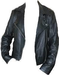90s grunge leather jacket