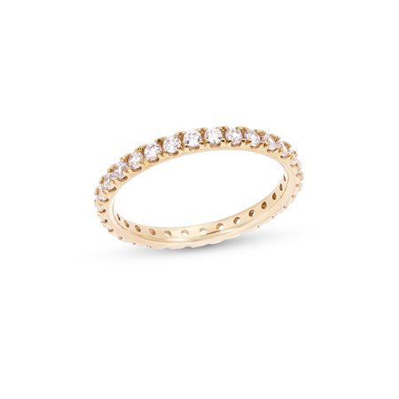 Brilliance - Cubic Zirconia Eternity Ring with Zirconia from Swarovski® - Walmart.com - Walmart.com