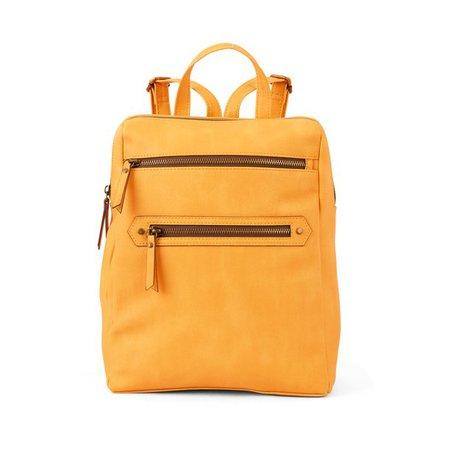Time and Tru - Time & Tru Cucamonga Backpack, Mustard - Walmart.com - Walmart.com