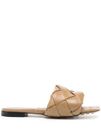 Bottega Veneta BV Lido flat sandals - FARFETCH