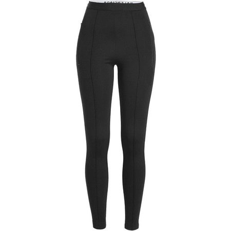Balenciaga Jersey Crepe Legging Pants ($780)
