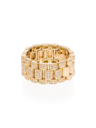 Shay 18Kt Gold Diamond Ring Continuity | Farfetch.com