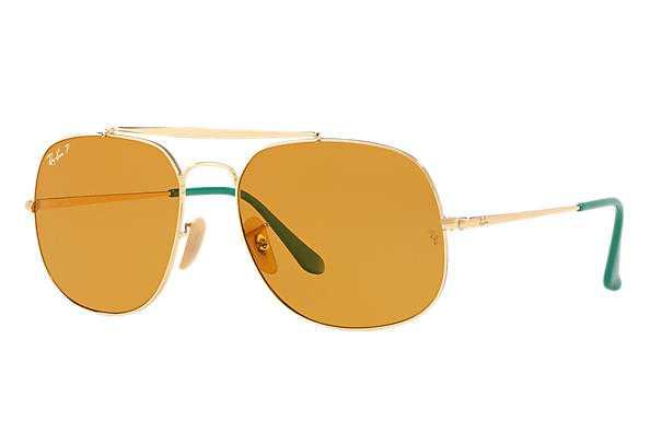 Ray-Ban General Pop Gold ,Polarized Lenses - RB3561 | Ray-Ban® USA