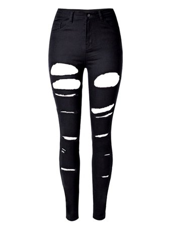 black ripped skinny jeans - Google Search