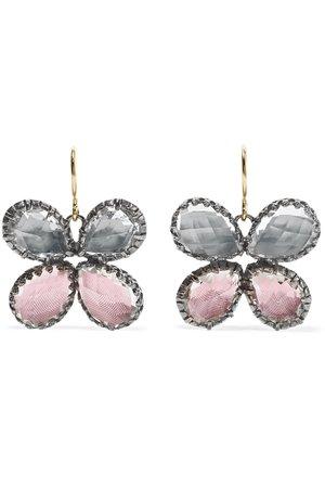 Larkspur & Hawk Sadie Butterfly quartz earrings