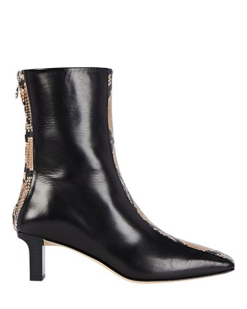 Aeyde Molly Leather Ankle Booties | INTERMIX®