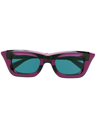 Kuboraum square-frame Sunglasses - Farfetch