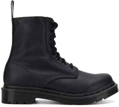 stitching detail boots