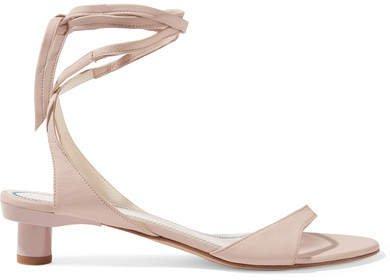 Scott Glove Leather Sandals - Pastel pink