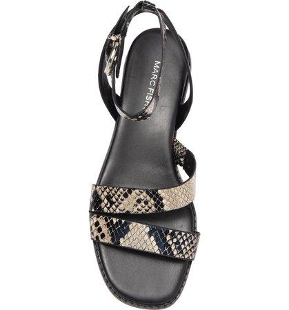 Python Embossed Sandal | Nordstromrack
