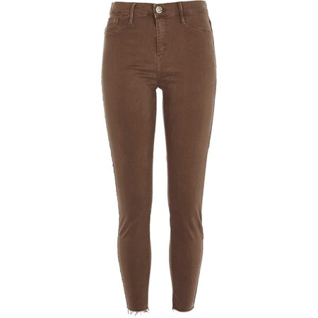 Brown Molly mid rise jeggings - Jeggings - Jeans - women