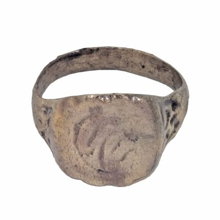 Authentic Medieval Boys Ring C.13th-15th Century Ring Size 5 1/2 (16.2mm) [PWR447]