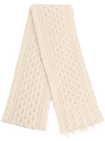 Alanui Cable Knit Scarf