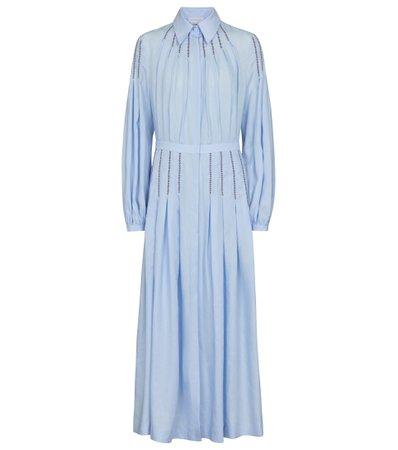 Gabriela Hearst, Watkins linen shirt dress